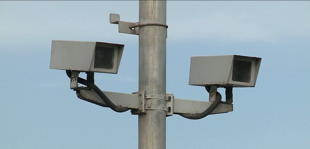 Radar de velocidade. — Foto: Reprodução/TV Mirante