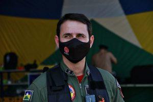Major BM Hugo Rios é o novo comandante do Comando de Operações Aéreas (COA) de Rondônia Foto: Ésio Mendes