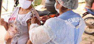 Covid-19 – Vacinação continua hoje em Porto Velho, veja quem pode ser imunizado  Foto: Semusa/Divulgação